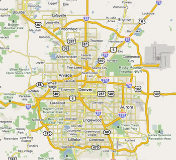 Dumpster Service Map Denver Colorado Images  Frompo